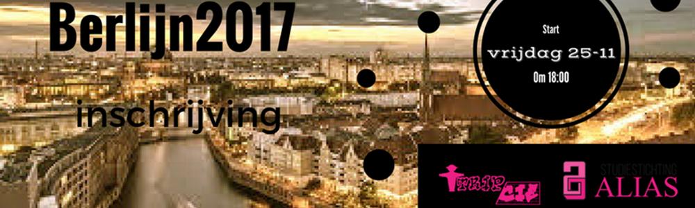Schrijf je in voor de TripCie reis naar Berlijn