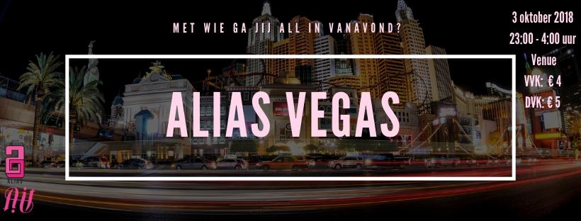 Facebook banner Alias Vegas nu echt goed