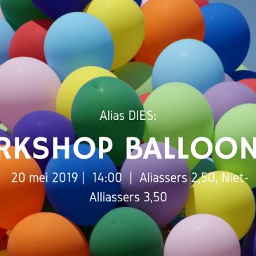 Alias Diesweek Balloonart-workshop